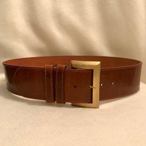 ✨Neiman Marcus Wide Genuine Leather Belt